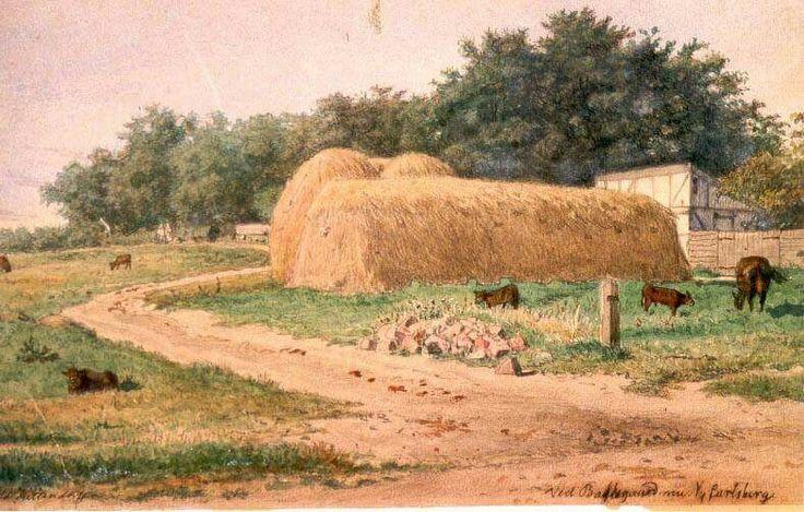 Bakkegaard nu Ny Carlsberg ca. 1860