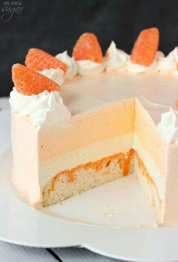 Orange Cream cycle Cake