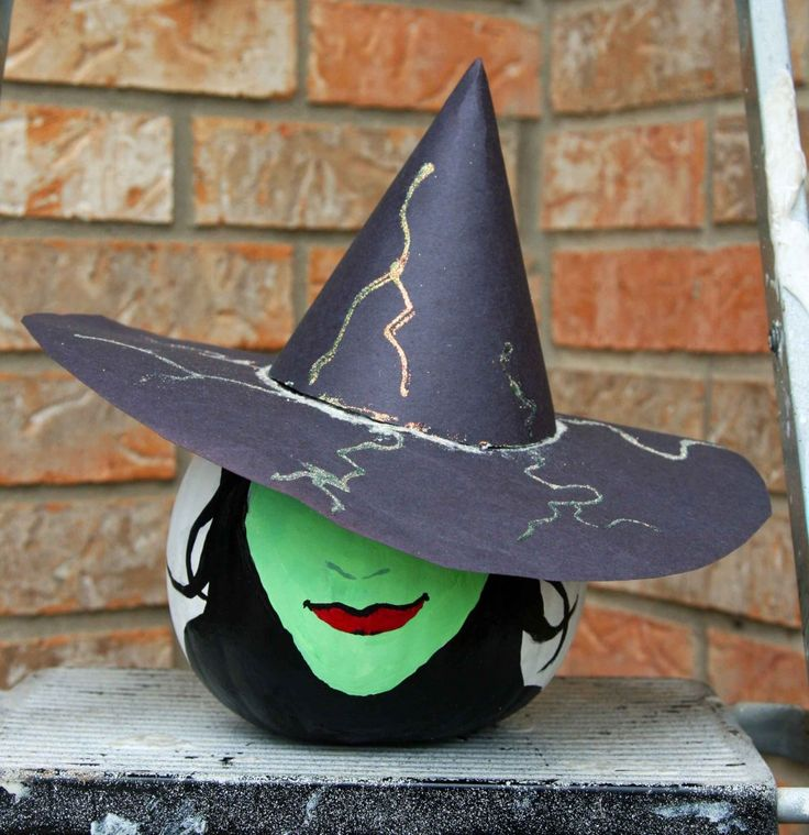 painted witch pumpkin                                                                                                                                                                                 More