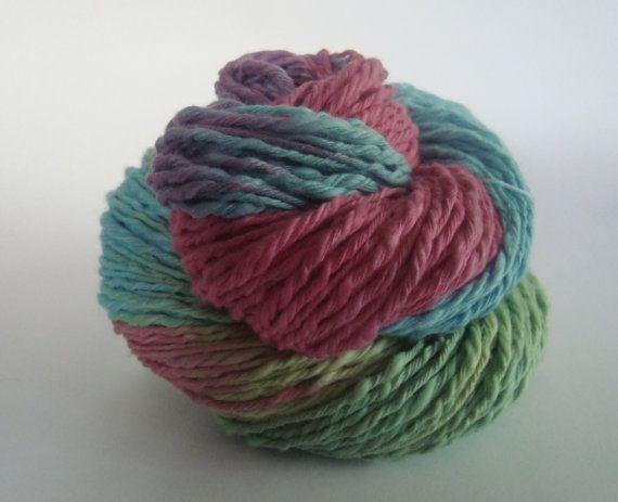 Love It Bulky Cotton Yarn by deorigenchile on Etsy, $12.00