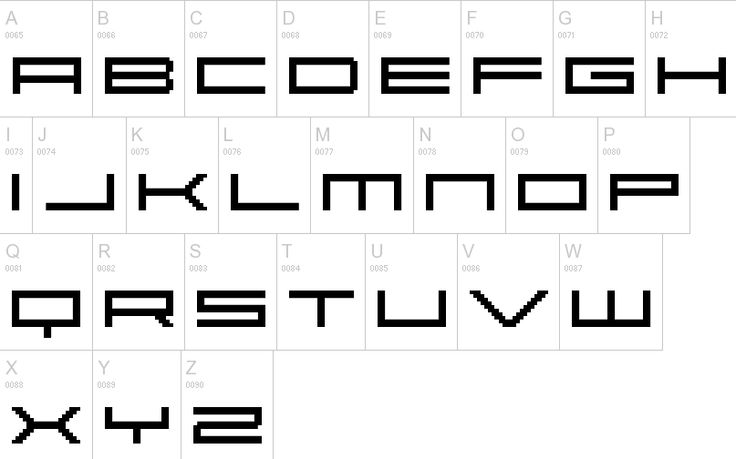 Bitmap Typography 12 Free Pixel Fonts Awesome Bitmap