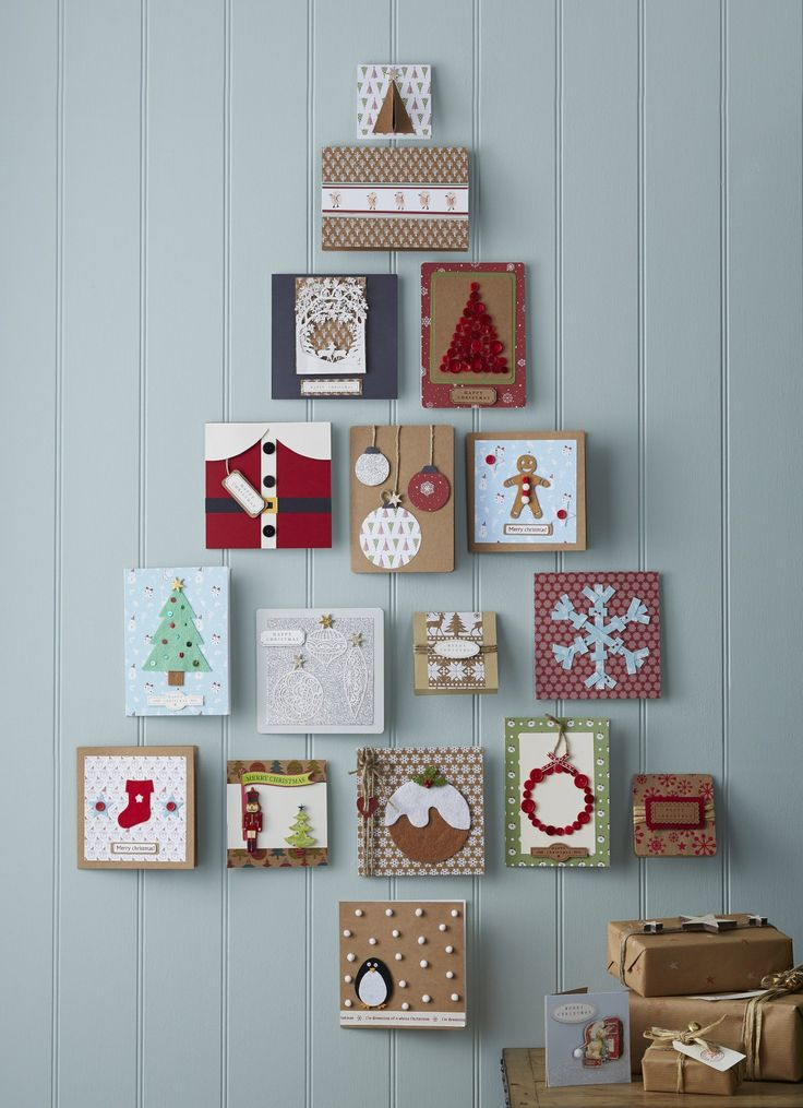 25+ best ideas about Easy christmas cards on Pinterest | Christmas ...