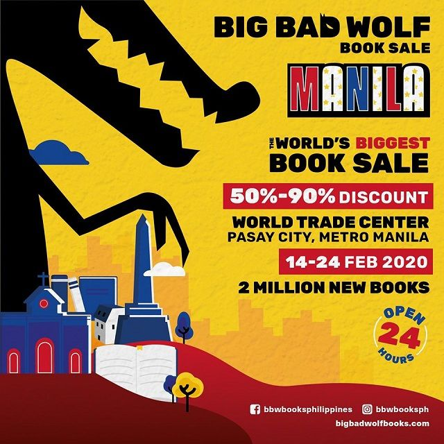 Bookworms The Big Bad Wolf Book Sale Will Be Making Your V Day Extra Special In 2020 Wolf Book Book Sale Kinds Of Reading