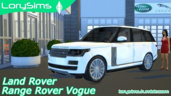 lory sims land rover range rover vogue sims 4 downloads. Black Bedroom Furniture Sets. Home Design Ideas
