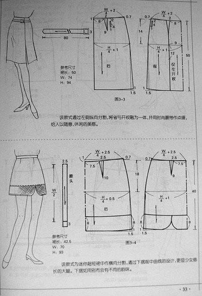 sewing patterns skirt...♥ Deniz ♥