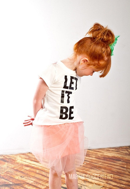 Joah Love - Let it be tshirt - Kid's fashion