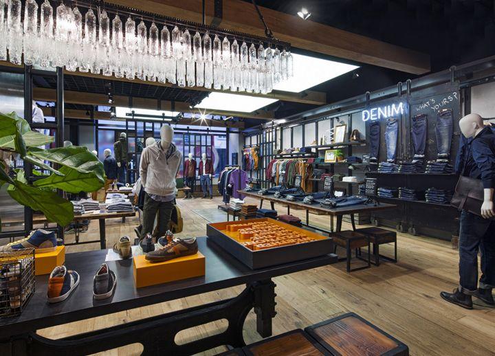 timberland store sf