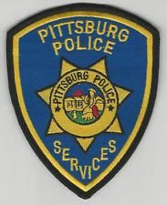 PITTSBURG, CALIFORNIA  POLICE SERVICES PATCH