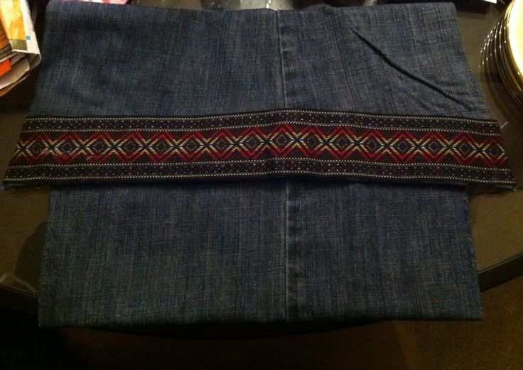 Denim purse- I made this!!!