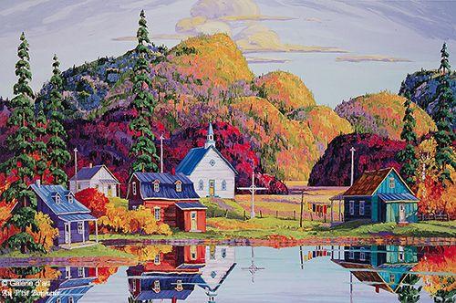 Vladimir Horik, 'Inoubliable octobre', print/reproduction | Galerie d'art - Au P'tit Bonheur - Art Gallery