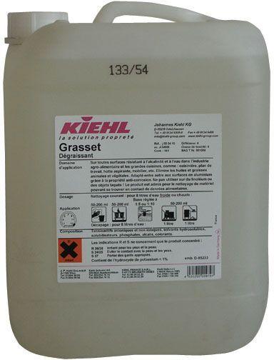 Kiehl Grasset Detergent alcalin pentru indepartarea grasimilor, uleiurilor si proteinelor de origine vegetala.