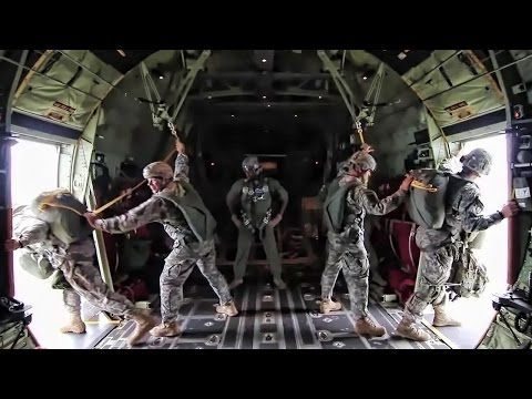 82nd Airborne Over Fort Bragg - YouTube