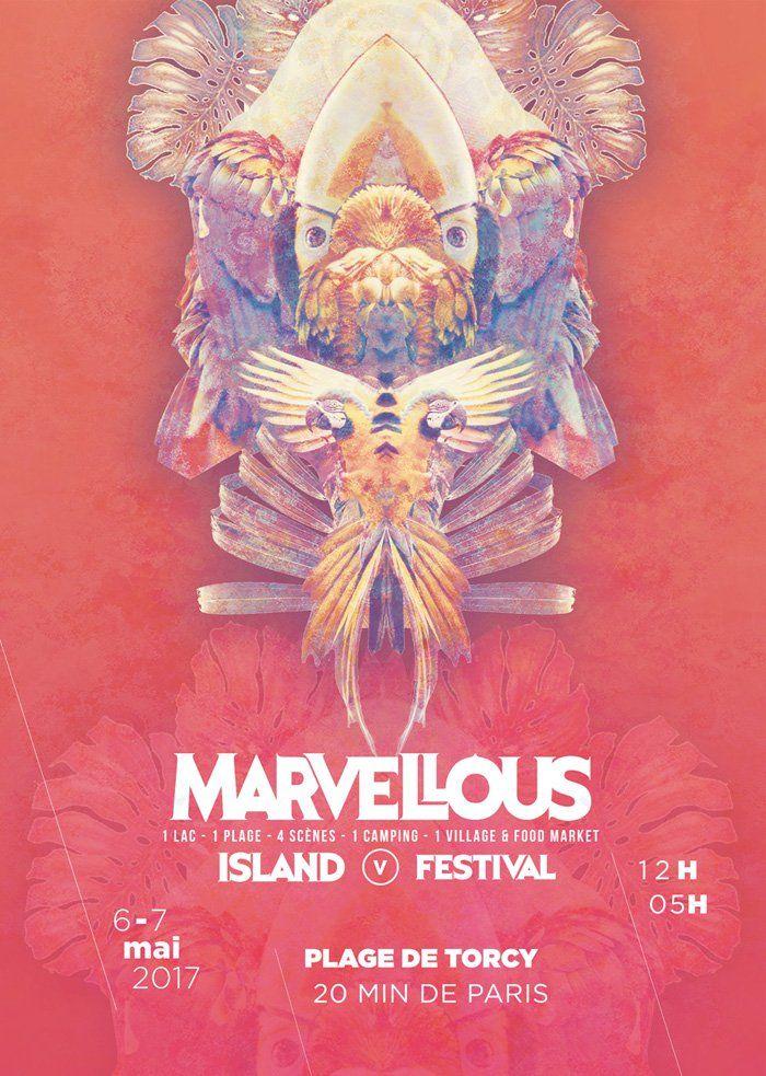 Marvellous Island Festival Torcy (77) édition 2017