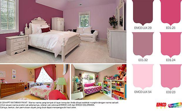 Princess, Barbie atau Kitty? #Inspirasi #Warna  http://matarampaint.com/detailNews.php?n=262