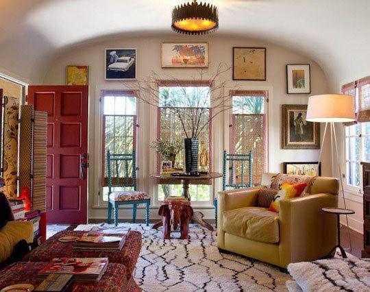 Living Room - Colors, Texture + Flexibility
