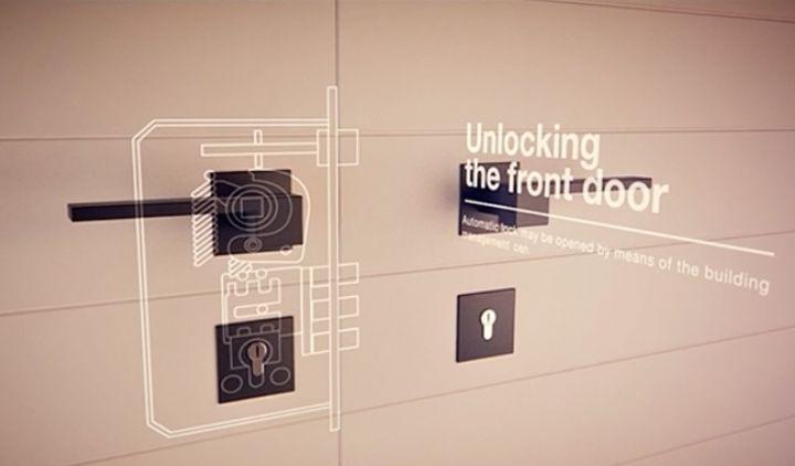Novo conceito imobiliário permite recursos como a fechadura digital.