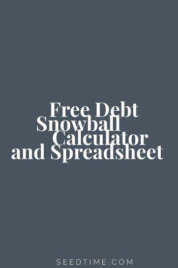 25  best ideas about debt snowball on pinterest