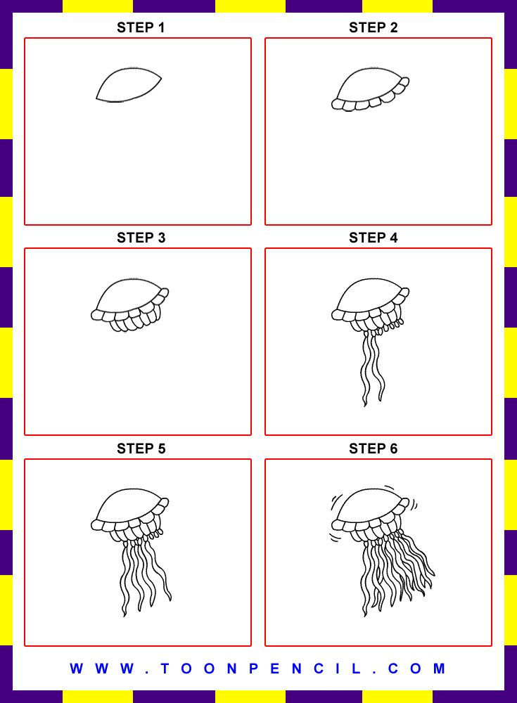 how to draw a family picnic step by step