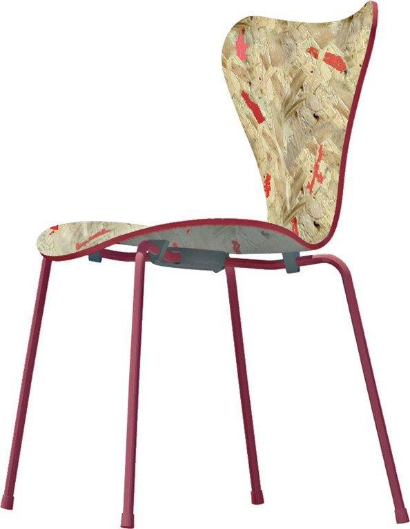 '7 cool architects' reinterpret Arne Jacobsen's series 7 chair