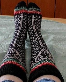 Lillehammer Socks