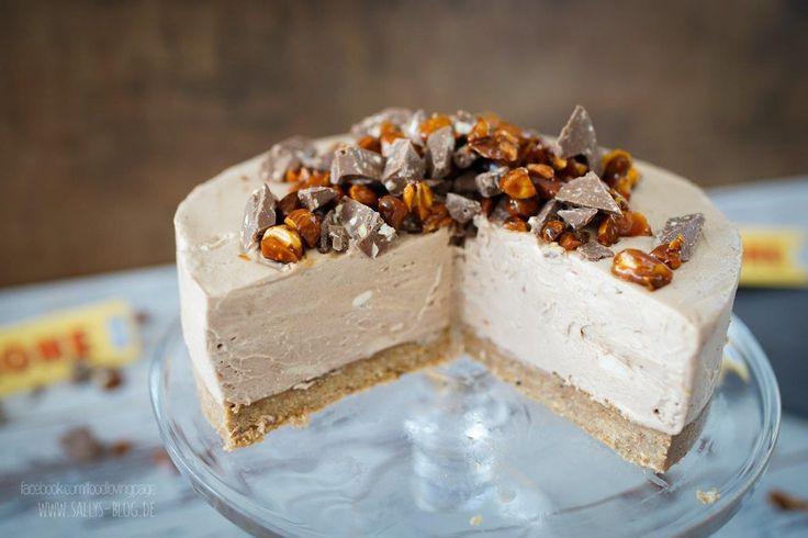 Schneller Cheesecake mit der Schweizer Toblerone Schokolade - aus dem Kühlschrank und ganz ohne Backen!