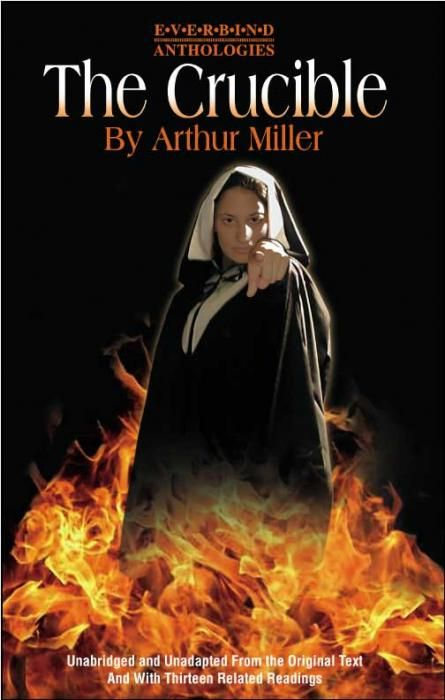 the sin of finger pointing in the crucible by arthur miller Millibo's crucible remains relevant in new setting  the crucible: a lesson in pointing fingers  not that there's any other way to tackle arthur miller's 1953 commentary on mccarthyism.