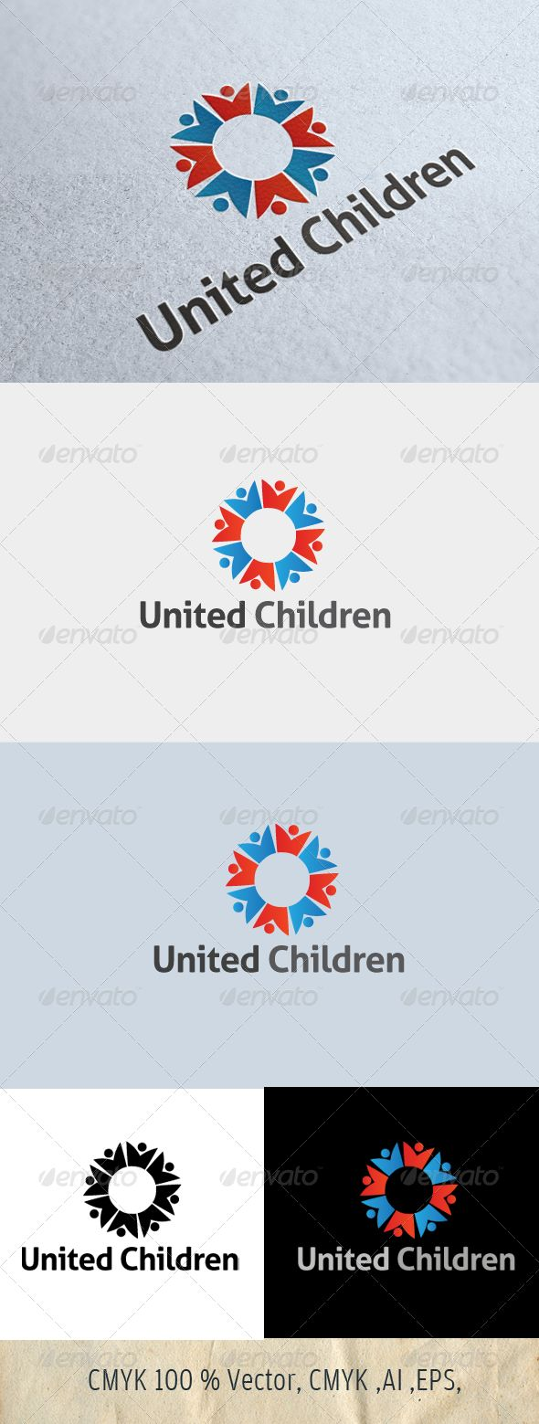 Logo for SALE SALE just 29$ !!!! hurry.......United Children