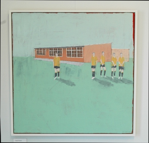 Kate Small, Shirley School, 2006, Oil on canvas, 700 x 700mm