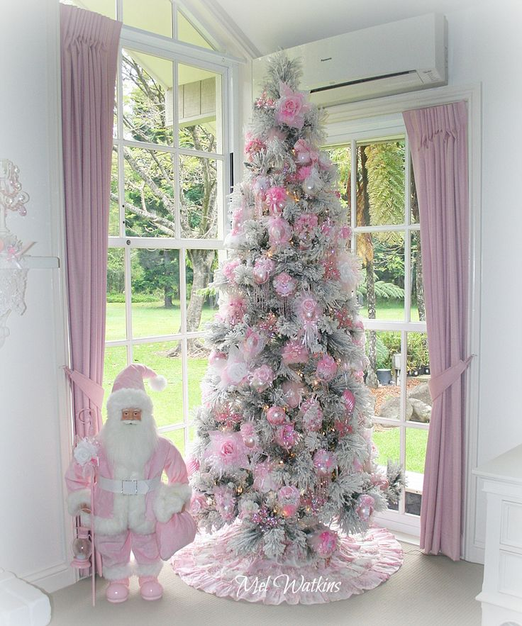 My shabby chic Pink Christmas Tree 2016 <3