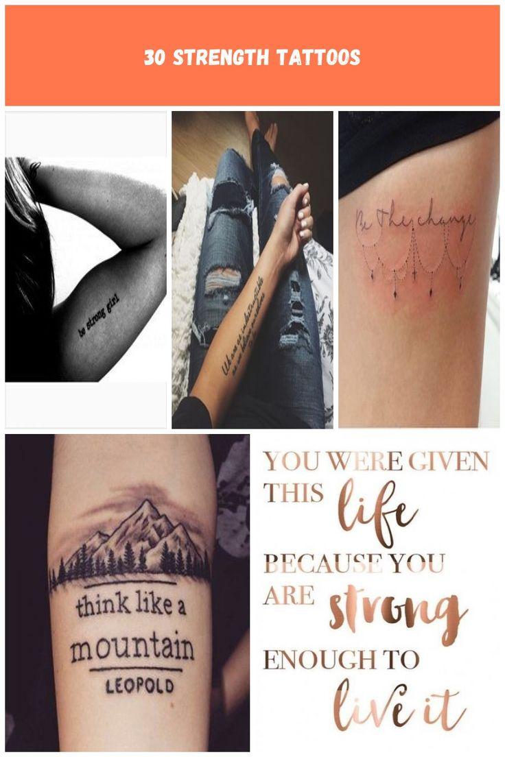 Top 30 Inspiring Strength Tattoos – Part 29 inspirational strength tattoos 30 St…