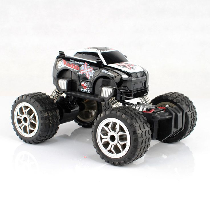 RC Car Monster Truck Bigfoot Graffiti Climbing Remote Car Wireless Remote Control Car Sport Utility Vehicle Electronic Model Toy
