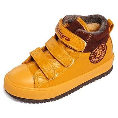 zapatos de los muchachos confortan planos zapatillas de deporte de moda talón con zapatos de cintas mágicas más colores disponibles - USD $ 17.99