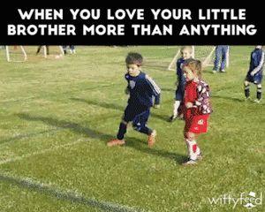 L'amour entre petits frère ❤️♥️