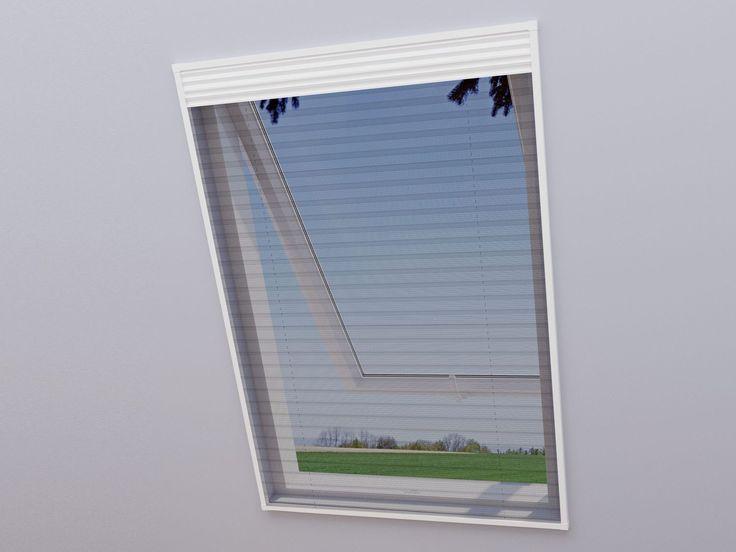 wip 2 in 1 Dachfenster Fliegengitter + Sonnenschutz 113 x 160 cm 1
