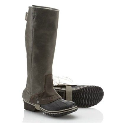 Sorel riding boots - love these!