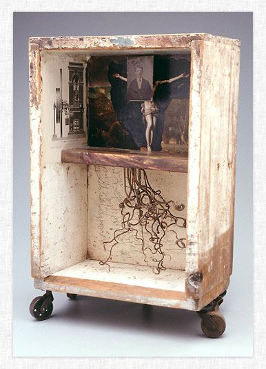 Assemblage by James Michael Starr.