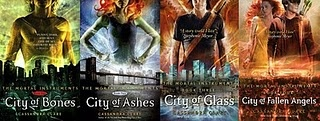 The Mortal InstrumentsCity Of Bones, The Mortal Instruments, The Hunger Games, Book Worth, Cassandra Clare, Fallen Angels, Cities Of Bones, Instruments Series, Book Series