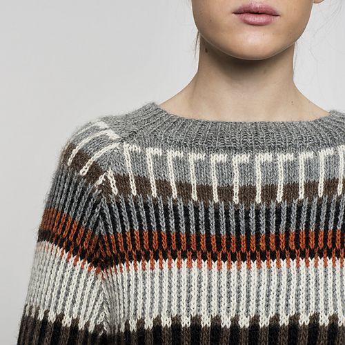 Ravelry: frkgarndk's Öland sweater *sample knit*