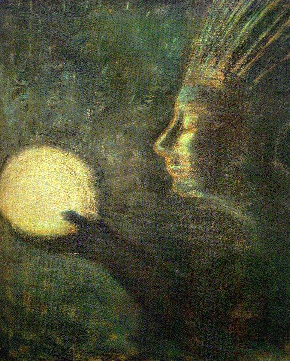 Mikalojus Ciurlionis ~ Friendship, 1907
