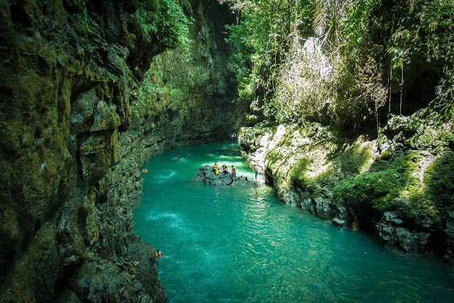 Pemandangan Indah Wisata Green Canyon di Pangandaran - nongsik