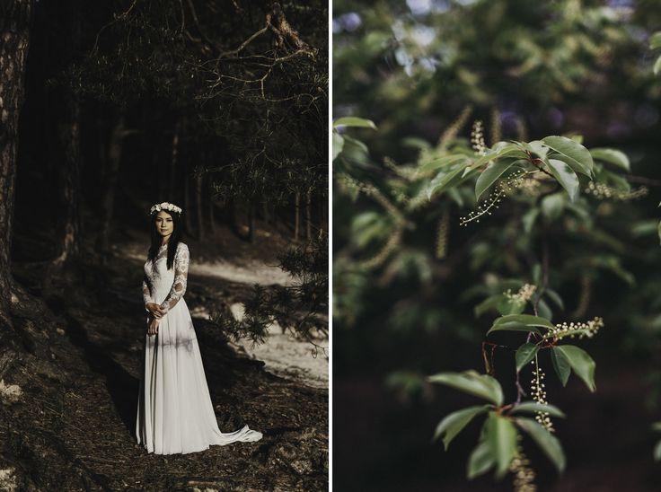 INNA Studio_floral crown / wianek na sesje / sesja ślubna / love / fot. Piotr Jakubowicz