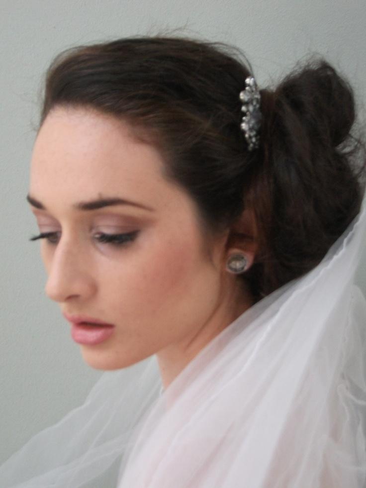 Bridal Makeup on Rhiannon