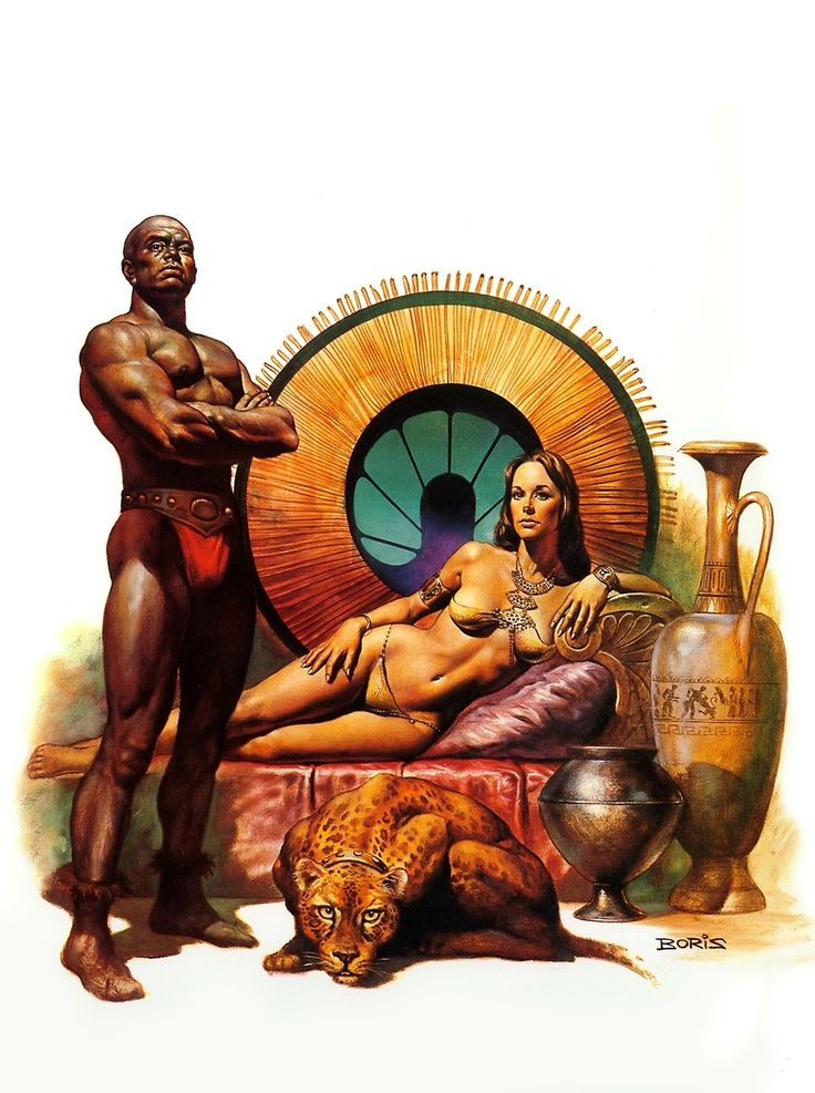 Slaves of the Empire / 3 / Brotan the Breeder / 1978 (Boris Vallejo)