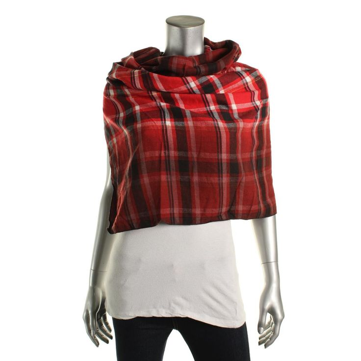 Collection 18 Womens Flannel Plaid Infinity Scarf