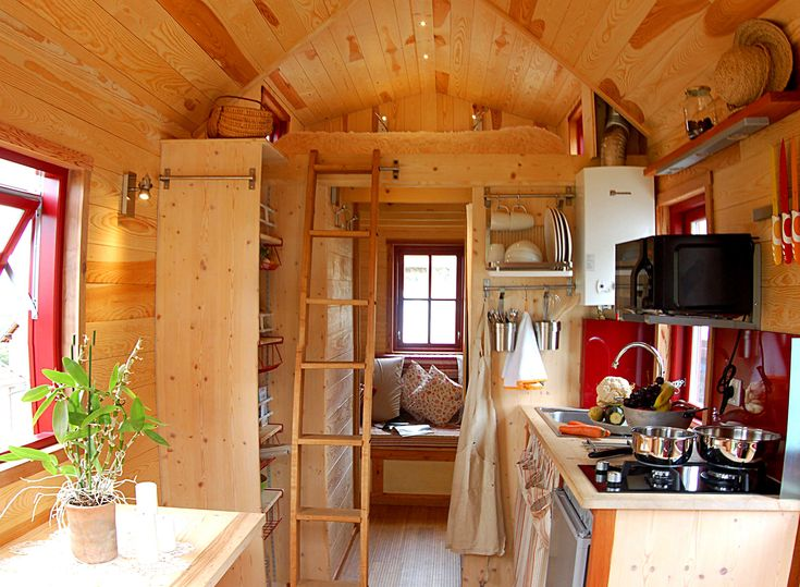 38 best tiny house concept images on Pinterest | Tiny houses ...