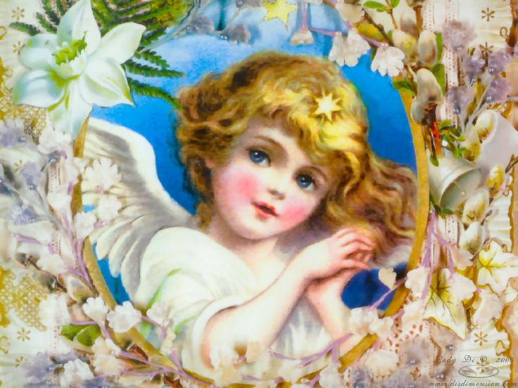 victorian angel desktop wallpaper - photo #2