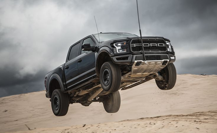 Ford's 2017 F-150 Raptor once again redefines what a full-size pickup truck is capable of. Read our full road test and see photos at Car and Driver.