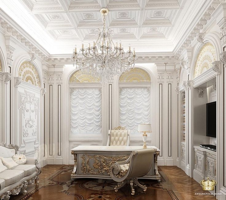The charm and elegance will give to your interior a tasteful stucco. Applicability of this type of decoration is almost unlimited, so you can create a space of your dreams. See more: http://antonovich-home.com/katalog/lepnoi-dekor#&panel1-1