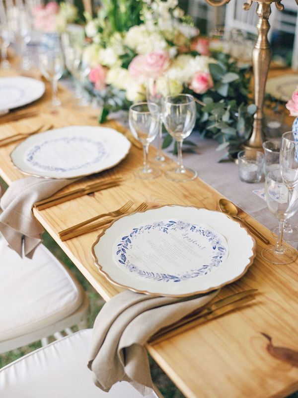 Rustic Romantic Place Setting    #wedding #weddingideas #weddings #aislesociety #eventdesign #rusticweddings