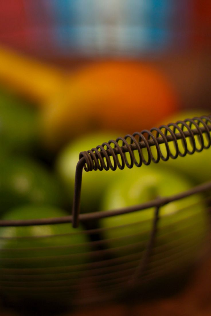 1950's wire fruit basket